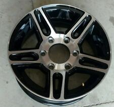 "15"" X 6"" 6 LUG ON 5.5  ALUMINUM TRAILER WHEEL"