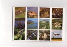 MALEV Hungarian airline A5 sheet of 12 pictures in original packaging
