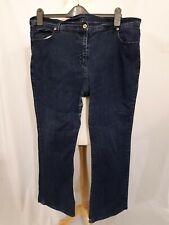 Marks & Spencer Flare Jeans - Size 20 - Blue