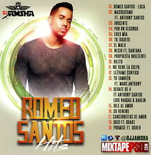 DJ Jamsha Romeo Santos Hits 2016 Bachata Pop (Mix CD) Mixtape