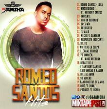 DJ Jamsha Romeo Santos Hits 2016 Bachata Pop (Mix CD) Mixtape