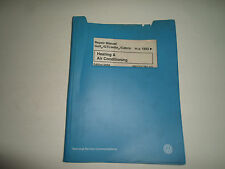 1993 94 95 96 97 VW GOLF GTI JETTA CABRIO Heating & AC Service Manual DAMAGED