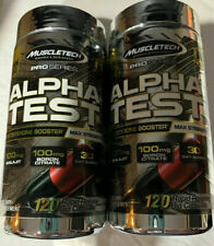 2 Muscletech Pro Series Alpha Test Testosterone Booster 100mg 240 Capsules