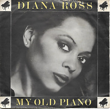 DIANA ROSS - MY OLD PIANO / WHERE DID WE GO WRONG - 80s MOTOWN FUNK/SOUL DISCO