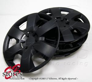 "4pc Set 14 inch Wheel Rim Skin Cover Hubcap Hub caps (14"" Matte Black Style#226)"