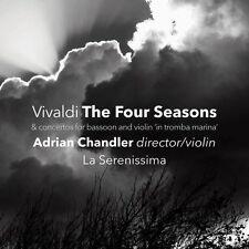Vivaldi / La Serenissima / Chandler - Four Seasons [New CD] Jewel Case Packaging