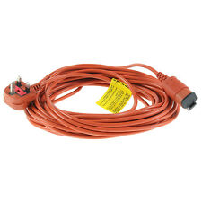 Replacement Electric Lawnmower Power Cable For Flymo 15m 15 Metre Lead