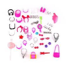 Collana dei monili dell'orecchino Bowknot Corona accessori per Barbie Dolls