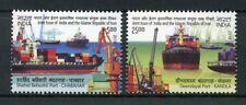 India 2018 MNH Ports JIS lran Deendayal Port 2v Set Boats Ships Stamps