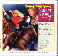 NEW Great Stories Volume 7 Your Story Hour Audio CD Christian Drama 6 CDs Vol