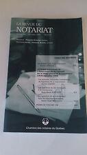 La revue du notariat - Volume 108 - déc. 2006 - Chambre des notaires du Québec