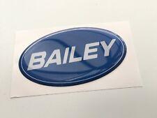 BAILEY Caravan domed decal sticker