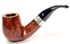 Peterson Sherlock Holmes Milverton Smooth Silver Mounted Pipe + Free Pipe Tool