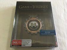 Game of Thrones - Season 3 Ltd Edition Steelbook Blu Ray Region B Post