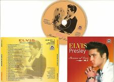 "ELVIS PRESLEY CD ""BECAUSE OF LOVE VOL. 2"" 2000 MEMORY TODAY TOMORROW AND FOREVER"