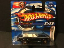2006 Hot Wheels #21 First Editions 21/38 - '69 Camaro FTE Wheels  (Short Card)