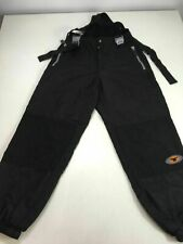 BOYS/MENS TOKKA TRIBE BLACK BY LUTHA BOARDING PANTS WITH BRACES SIZE UK XL