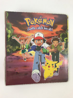 "Vintage 1990's Pokemon ""Gotta catch 'em all!"" Trading Card Binder"