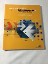 macromedia GENERATOR 2 Developer Edition Using Generator - Book