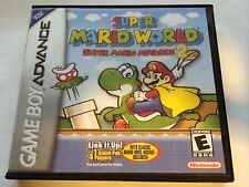 Super Mario World Super Mario Advance 2 - GBA - Replacement Case - No Game