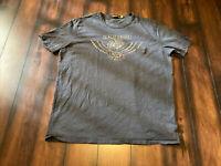 Vintage Los Angeles Johnson Motors Inc. Triumph T-Shirt Size 2XL Harley Davidson