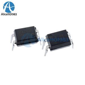 30PCS PC123 DIP-4 Optoisolator Photocoupler Optocoupler Triac Driver IC