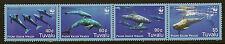 Tuvalu: 2006 pygmée killer whalessg1224-7 non montés menthe se-tenant bande de quatre