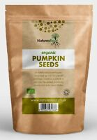 Certified Organic Pumpkin Seeds - Raw, Natural, Shelled, Ready to Eat ALL SIZES