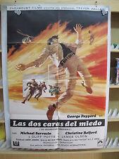 A605     LAS DOS CARAS DEL MIEDO  GEORGE PEPPARD