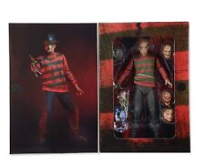"Freddy Krüger A Nightmare on Elm Street 30th Ultimate 7"" 18cm Action Figur Neca"