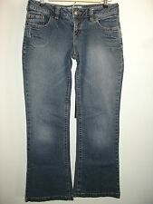 Maurices Women's Size 5/6 Short (31x30) Jacie Distressed Flare Jeans 21-9633