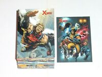 2009 MARVEL X-MEN ARCHIVES 72 BASE CARD SET WOLVERINE DEADPOOL X-23 MAGNETO!