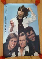 Vintage Pretenders Poster 24 X 36 (1981)