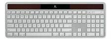NEW! Logitech K750 for Mac Slim Wireless Solar Keyboard Silver/White 920-003472