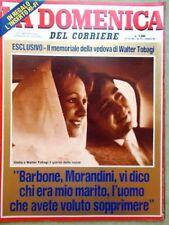 La Domenica del Corriere 17 Dicembre 1983 Tobagi Alboreto Ferrari San Patrignano