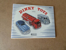 CATALOGUE JOUETS DINKY TOYS FRANCE  1954