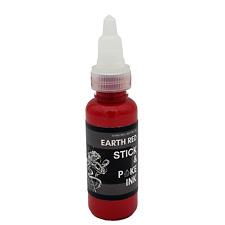 Earth Red - Stick & Poke Tattoo Ink For Hand Poke Tattooing - 30ml