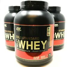 Optimum Nutrition ON Gold Standard Whey Protein Powder 5LB Choose Flavor ISO-100