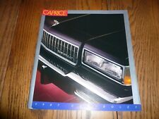 1987 Chevrolet Caprice Sales Brochure Vintage - Two for One Price