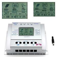 80A MPPT Solar Panel Regulator Charge Controller 12V/24V 1000W/2000W &LCD USB DX