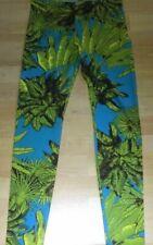 Versace for H&M Leggings Pants Hose Palmen Palm Print Gr. 36 size US 6 UK 10