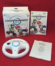Mario Kart Wii + Steering Wheel (boxed) - Nintendo Wii - PAL - TESTED
