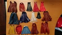 Marvel Legends Custom Fodder Cape Hood Cloak Lot of 15 Scale 6 inch
