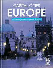 Capital Cities Europe 'All European Capitals From Amsterdam to Zagreb Monaco Boo