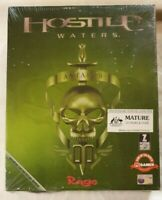 Hostile Waters PC CD-ROM 2001 Vehicle/Strategy RAGE / Interplay [New & Sealed]