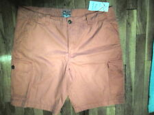 NWT Rio Sportswear, Rugged, Coral, Cotton Twill Cargo Shorts Sz 40 (S-SHO-914)