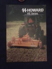 Howard Gem Rotavator-INSTRUCTIONS /& Pièces Détachées Livre-Série III Modèle