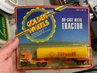 Vintage Golden Wheels 1/64 SHELL Gas Oil Tanker Truck MOC MIP Hot Wheels 1970s