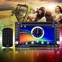 "Double DIN 6.2"" In Dash Car Stereo Radio CD DVD Player Bluetooth HeadUnits USB"