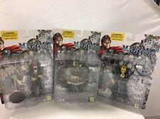 MAXIMO - 5-INCH SCALE ACTION FIGURE SET OF 3 TOYCOM 2001 - RARE Capcom comics